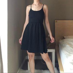 American Apparel Crossback Stretch Dress.-T3.